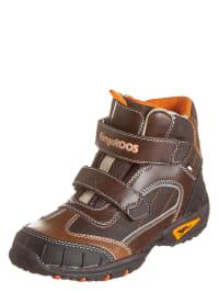 "Kangaroos Winterboots ""Jaden"" in Braun/ Orange"