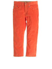 Paglie Cord-Chinohose in Orange