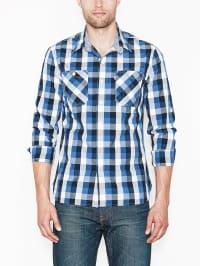 """Levi´s Hemd """"Workshirt"""" in Blau/ Weiß"""
