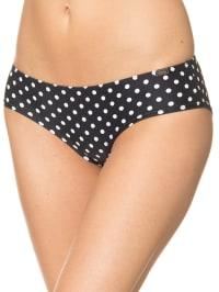 Skiny Bikini-Panty in Schwarz/ Weiß