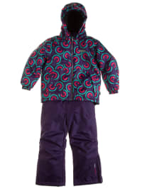 """Color Kids 2tlg. Skioutfit """"Glasgow"""" in Lila"""