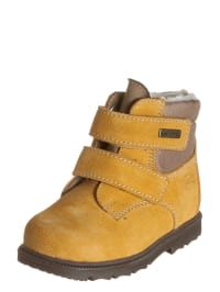 Richter Shoes Leder-Boots in Ocker