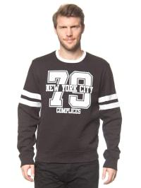 Complices Sweatshirt in Schwarz/ Weiß