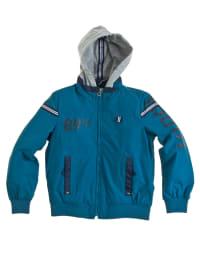 Geox Jacke in Blau/ Grau