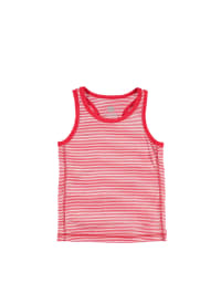 Sanetta Unterhemd in Rot/ Weiß