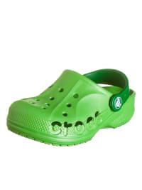 """Crocs Clogs """"Baya Kids"""" in Limette/ Grün"""