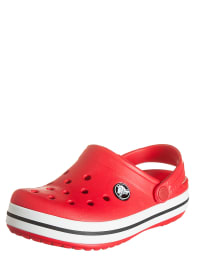 "Crocs Clogs ""Crocband Kids"" in Rot/ Weiß"