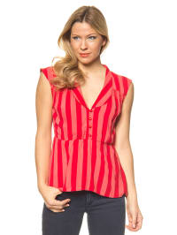 "Blutsgeschwister Bluse ""Allure"" in Rot"