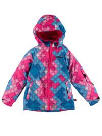 """Legowear Skijacke """"Jeanne 604"""" in Hellblau/ Pink/ Rosa"""