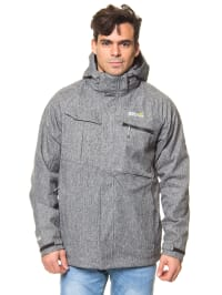 "Regatta 3-in-1 Funktionsjacke ""Solarflare"" in Grau"