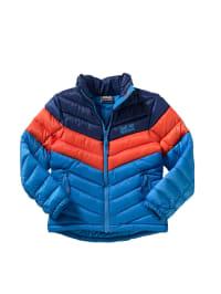 "Jack Wolfskin Winterjacke ""Icecamp"" in Blau/ Orange"