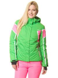 CMP 2tlg. Ski-/ Snowboardoutfit in Pink/ Grün
