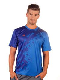 Adidas Shirt in Blau
