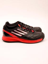 Adidas Sportschuhe in Schwarz/ Rot