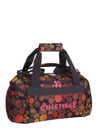 """Chiemsee Sporttasche """"Matchbag S"""" in Dunkelblau/ Rot/ Orange - (B)44 x (H)22 x (T)21 cm"""