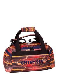 """Chiemsee Sporttasche """"Matchbag S"""" in Rot/ Orange/ Dunkelblau - (B)44 x (H)22 x (T)21 cm"""