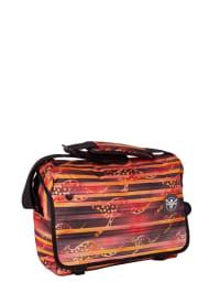 """Chiemsee Umhängetasche """"Shoulderbag L"""" in Rot/ Orange/ Dunkelblau"""