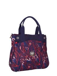 """Chiemsee Henkeltasche """"Ladies Handbag"""" in Dunkelblau/ Rot - (B)42 x (H)37 x (T)11 cm"""