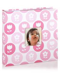 Corexa Fotoalbum in Weiß/ Pink - (B)24,50 x (H)22,80 x (T)5,80 cm