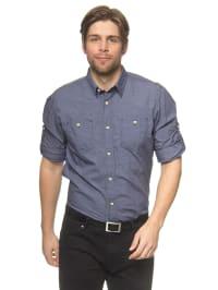 Tom Tailor Hemd in Dunkelblau