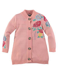 Pampolina Srickjacke in Rosa