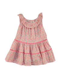 TroiZenfants Kleid in Rosa/ Bunt