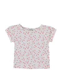 TroiZenfants Shirt in Weiß/ Rosa/ Rot