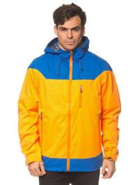 "Killtec Outdoorjacke ""Lyman"" in Orange/ Blau"