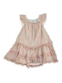 TroiZenfants Kleid in Apricot/ Bunt