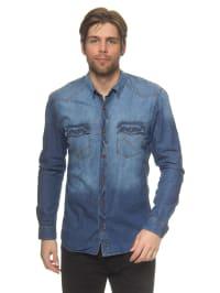 Tom Tailor Jeanshemd in Blau
