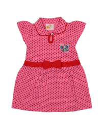 Dutch Bakery Kleid in Pink/ Rot
