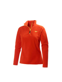 "Helly Hansen Fleece-Pullover ""Daybreaker 1/2 Zip"" in Orange"