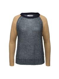Replay Pullover in Grau/ Beige