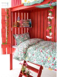 """Beddinghouse Bettwäsche-Set """"Forest Friends"""" in Pink/ Bunt"""