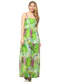 Lavand Kleid in Grün