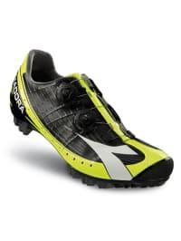 """Diadora Mountainbike-Schuhe """"X Vortex-Pro"""" in Schwarz/ Gelb"""
