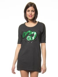 "One Green Elephant Sweatkleid ""Mckinney"" in Anthrazit"