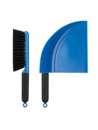 "Bodum Kehrschaufelset ""Dustpan & Brush"" in Blau"