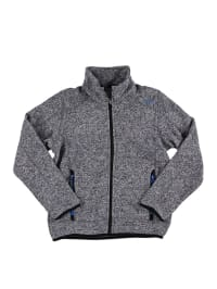 CMP Strickfleece-Jacke in Grau