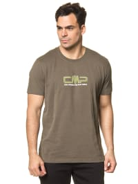 CMP Shirt in Olivgrün