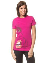 Reebok Shirt in Fuchsia
