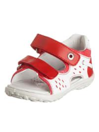 Naturino Sandalen in Weiß/ Rot