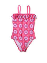 Sunuva Badeanzug in Pink/ Lila