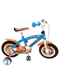 "Stamp 14 Zoll-Fahrrad ""Planes"" in Hellblau/ Orange"