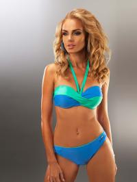 "Aquarilla Bikini ""Havana"" in Blau/ Grün"