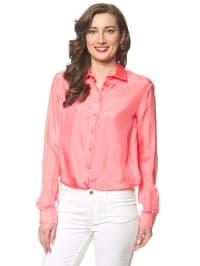 Hilfiger Seiden-Bluse in Pink