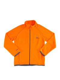 Peak Mountain Fleecejacke in Orange