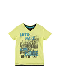 Emoi Shirt in Gelb/ Schwarz/ Blau