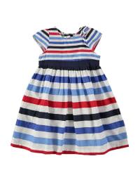Emoi Kleid in Weiß/ Blau/ Rot