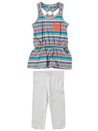 Emoi 2tlg. Outfit in Bunt/ Weiß